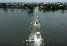 Nhiều tuyến đường bị ngập lụt tại Hà Nội