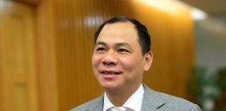 Tỷ phú Phạm Nhật Vượng là người giàu nhất Việt Nam