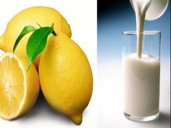 Không nên uống sữa với nước cam, chanh