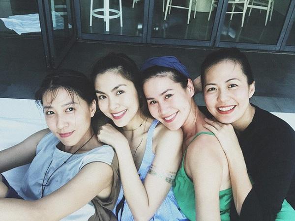 Hội bạn thân của showbiz Việt