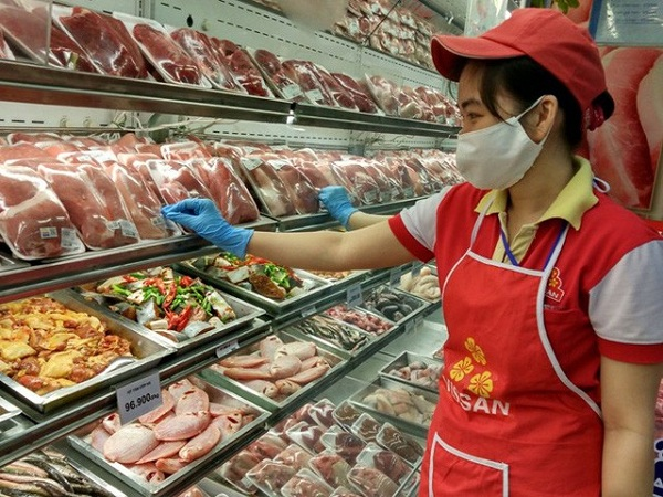 Thịt ngoại nhập giá rẻ