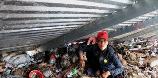 vụ lở núi ở Nha Trang