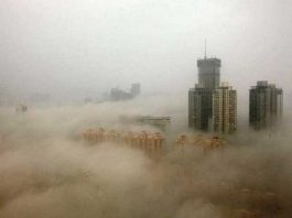 Ô nhiễm bụi mịn ở Trung Quốc