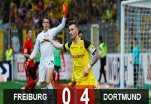 Dormund bừng sáng trước Freiburg