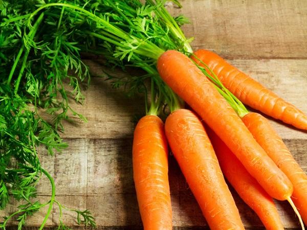 tác dụng của cà rốt
