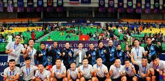 AFC chúc mừng CLB Thái Sơn Nam với thành tích lọt vào tốp 3 châu Á
