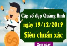Phân tích kqxs quảng bình ngày 19/12 chuẩn