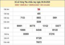Phân tích XSVT 15/9/2020
