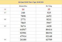 Phân tích KQXSMT 7/10/2020 chốt KQXS miền Trung thứ 4