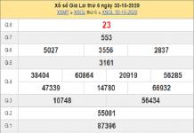 Phân tích KQXSGL ngày 06/11/2020- xổ số gia lai chắc trúng