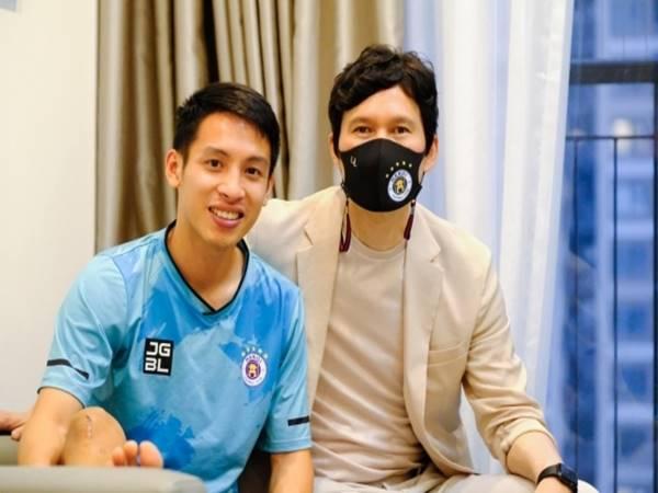 Bóng đá VN 22/4: Tân HLV CLB Hà Nội trực tiếp đến thăm hỏi Hùng Dũng