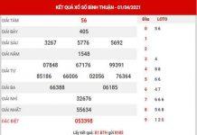 Phân tích XSBTH ngày 8/4/2021 - Phân tích đài xổ số Bình Thuận thứ 5