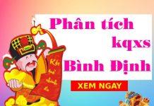 Phân tích kqxs Bình Định 6/5/2021