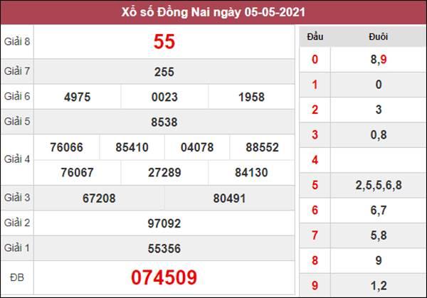 Phân tích XSDNA 12/5/2021 thứ 4 chốt lô VIP Đồng Nai