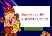 Phân tích chi tiết KQXSMT 27/7/2021