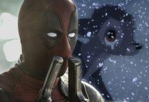 Ryan Reynolds từng đóng phim cho Disney A Deadpool & Bambi Crossover