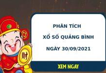 Phân tích xổ số Quảng Bình 30/9/2021 thứ 5 hôm nay chuẩn xác